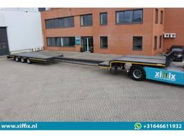 semi lowloader semi trailer Lintrailers NIEUWE 3-ass. uitschuifbare semi dieplader // Naloop gestuurd