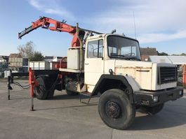 crane truck Magirus Deutz 232D19 4x4 V8 **CRANE-GRUE** 1974