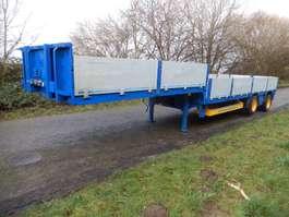 lowloader semi trailer Damm 2DJS38/OL 2 As Oplegger Dieplader Open - Gedwongen gestuurd - Uitsc... 2000