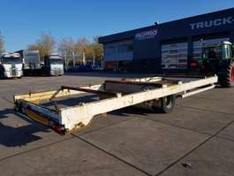 drop side full trailer open chassis 2011