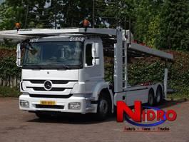 car transporter truck Mercedes-Benz AXOR AUTOTRANSPORTER KASSBOHRER CITYTRANS 5 Cars 2011