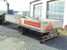 flatbed full trailer Kögel 1 achs offen  luft GG: 4.500 kg TÜV Neu 2010