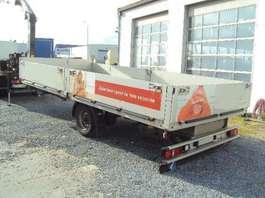 flatbed full trailer Kögel 1 achs offen  luft GG: 4.500 kg 2010