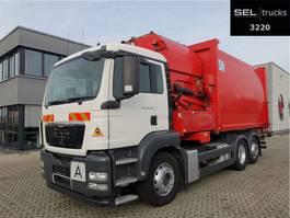 garbage truck MAN TGS 26.320 6X2-2 BL / Lenkachse / GERMAN