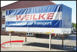 curtain slider swap body container Krone WB 7,45 BDF Wechselbrücke, Bordwand, 2005
