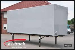 swap body box container Spier WB 7,45 Koffer, Rolltisch, klapp Boden, 2850 Innenhöhe 1990