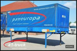 съемный кузовной контейнер с отодвигающимся занавесом Krone WB 7,45 BDF, Pritsche, Bordwand, 2002