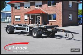 container chassis trailer Meiller 18ZB 5,0, Absetzanhänger verzinkt Frontbeladung, 2005