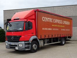sliding curtain truck Mercedes-Benz AXOR 1829    4X2 2008