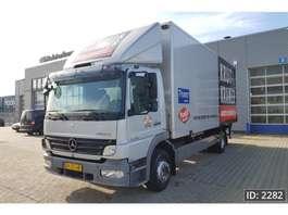 camião de caixa fechada Mercedes Benz Atego 1218 Day Cab, Euro 5, NL TRUCK 2009