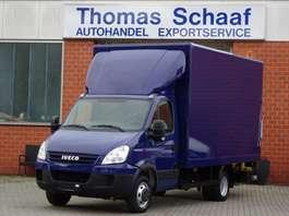 veículo comercial ligeiro de caixa fechada Iveco Daily 35C18 Hpi Koffer Maxi Klima Ahk Lbw 3.5T 2008
