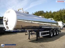 Tankauflieger Auflieger Guhur Chemical tank inox 22.2 m3 / 1 comp 2000