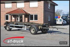 container chassis trailer Meiller HKM G18SEB 5.0, Abrollanhänger, 2004