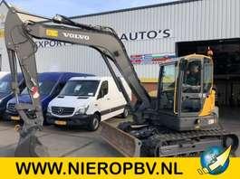 escavadora de rastos Volvo ECR 88D ECR 88D AIRCO SNELWISSEL  4300UUR 2016