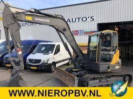 escavatore cingolato Volvo ECR 88D ECR 88D AIRCO SNELWISSEL  4300UUR 2016