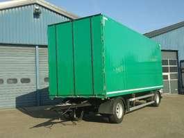 closed box trailer Groenewegen 2 As Aluminium Gesloten met Doorlader syteem 2011