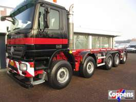 chassis cab truck Mercedes Benz Actros 5041 B 10x4 BDFsysteem 50 tons Euro 5 2010