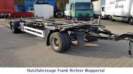 chassis trailer Krone Jumbo Lafette AZW18