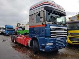 chassis cab truck DAF FAR XF105.460 2011