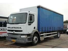 closed box truck Renault HD210-19 1998