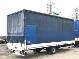 tilt trailer Anhänger 7,27 mDurchlade, 5 t. Durchladeklappe,Schiebeplane, Planenrollo, 2012