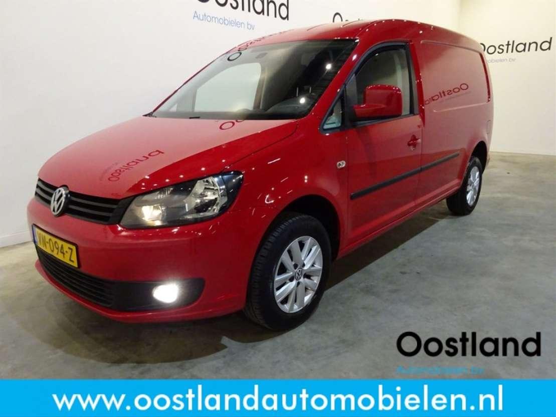 Volkswagen Caddy 16 Tdi Maxi C Edition 102 Pk Airco Lm Velgen Audio Met Stuu Closed Lcv Trucksnlcom