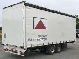 tilt trailer Krukenmeier Tandemanhänger TA 11,8 verzinkt Edscha, BPW - luft, 2013