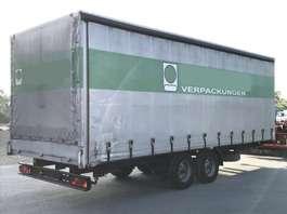 tilt trailer Tandemanhänger 11,4 t. Pritsche Schiebeplane, RSAB 2002