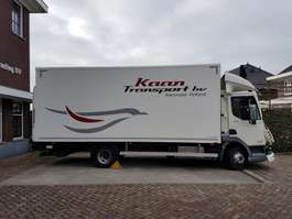 closed box truck DAF LF 180 Euro 6 2017