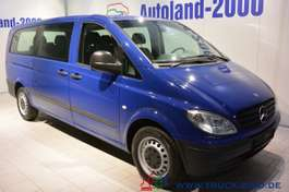 autobús taxi Mercedes Benz Vito 115 CDI Extra Lang Automatik 7-Sitze Klima 2010