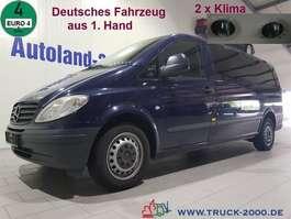 autobús taxi Mercedes Benz Vito 115 CDI Extra Lang 7 Sitze 2 x Klima 1.Hand 2009