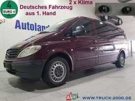 autobus taxi Mercedes Benz Vito 115 CDI Extra Lang Autom. 7 Sitze 2 x Klima 2009