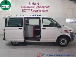 closed lcv Volkswagen T 5 TDI 4motion Regaleinbau Scheckheft TüV neu 2010
