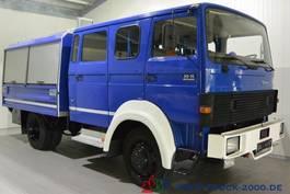 closed box truck > 7.5 t Magirus Deutz 90-16 Turbo 4x4 Mannschaft-Gerätewagen Neuwertig 1986