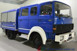 closed box truck > 7.5 t Iveco 90-16 Turbo 4x4 Mannschaft-Gerätewagen Neuwertig 1986