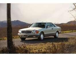 other passenger car Mercedes Benz 500 SEC, Deutsche Erstauslieferung 500 SEC, Deutsche Erstauslieferung 1985