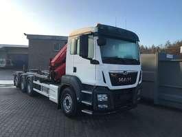 camião de contentores MAN TGS 35.470 8x4-4 BL-M kraan+containerhaak 2020