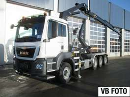 container truck MAN TGS 35.470 8x4-4 BL-M 2x kraan+containerhaak 2019