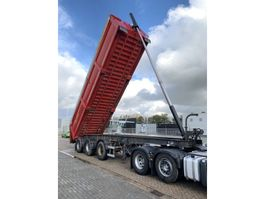 tipper semi trailer EKW steered tipper 34m3 3-axle 2003