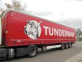 sliding curtain semi trailer Krone SD EN 12642 XL AUFBAU 2016