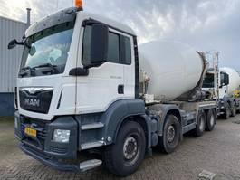 concrete mixer truck MAN TGS 37.360 8x4 EURO6 10m3 mixer EURO6 2016