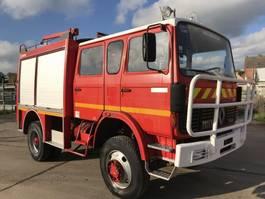fire truck Renault S110-150 4x4 **FIRETRUCK-WATERPUMP+TANK** 1985