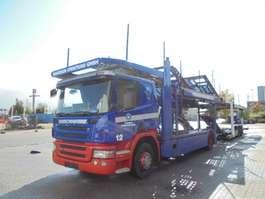 car transporter truck Scania P380 2008