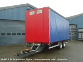 sliding curtain trailer Burg 2 As Middenas aanhanger Schuifzeilen en Doorlaaddeuren 2003