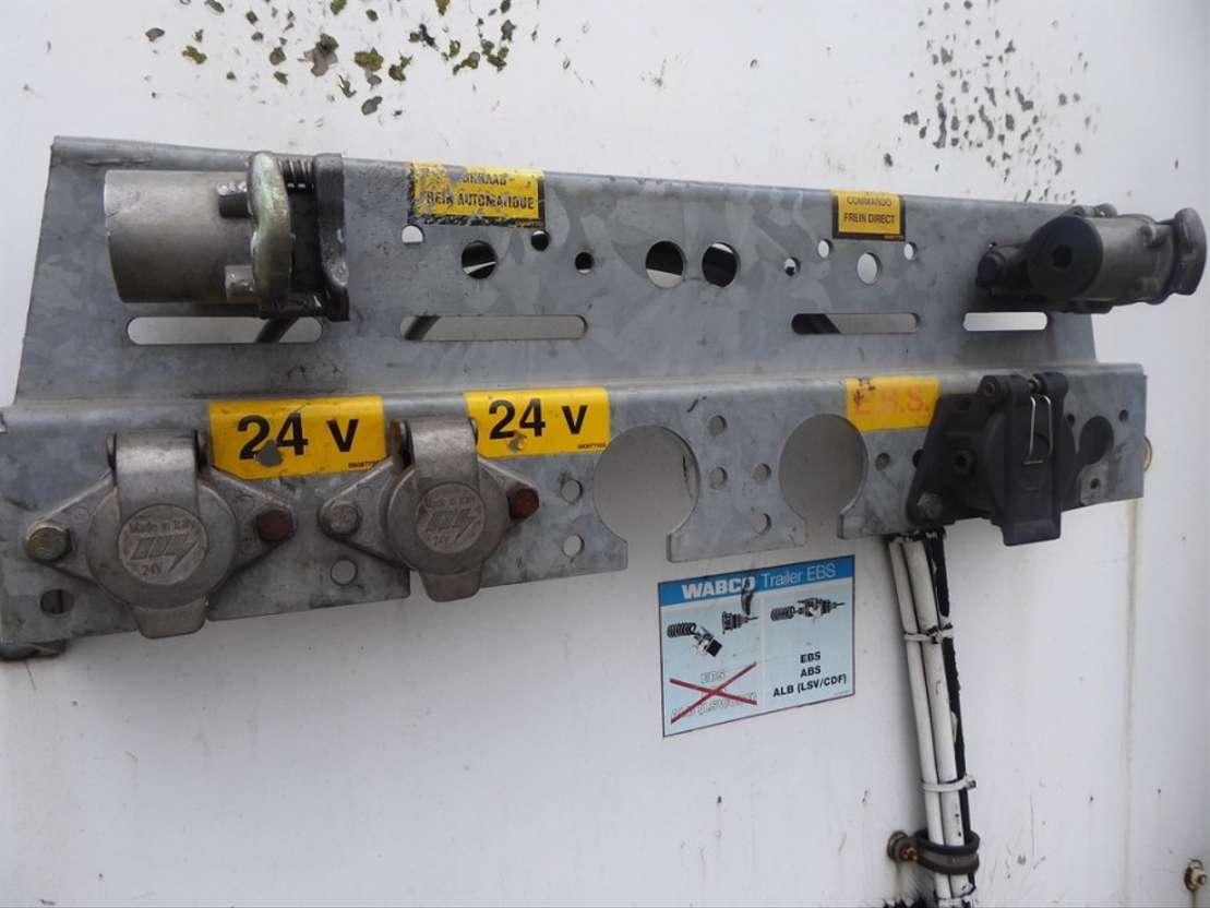 полуприцеп со сдвижной занавеской Van Hool ABS, Edscha, Schiebedach 2005
