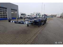 semirremolque de chasis contenedor Broshuis 3UCC-39 Extendable 2007