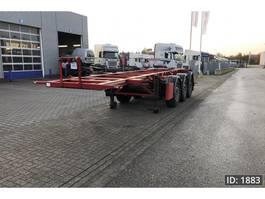 Container-Fahrgestell Auflieger Klaeser CSA 20 Tank container 2014