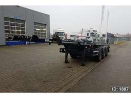 Containerfahrgestell Auflieger Kögel Port 40 Tankplex 2015