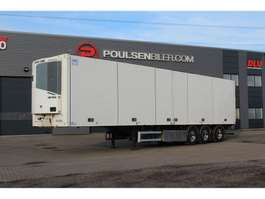 refrigerated semi trailer Ekeri Thermoking 2-temp opening side 2011