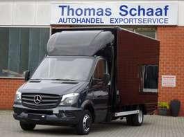 samochód dostawczy ze skrzynią zamkniętą Mercedes Benz Sprinter 515 Cdi Koffer Maxi Klima LBW 3.5t Euro 4 2007
